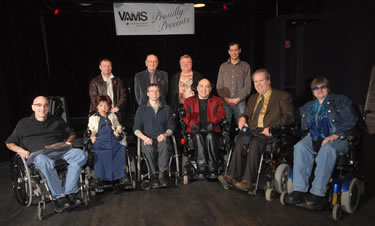 Members of the Vancouver Adapted Music Society