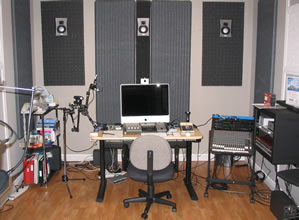 The VAMS studio, equipped with Macintosh.